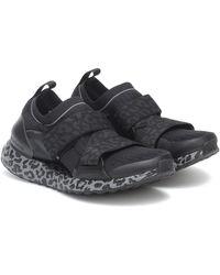 adidas By Stella McCartney Baskets Ultraboost XS à motif léopard - Noir