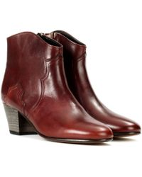 Isabel Marant - Dicker Ankle Boots - Lyst