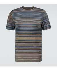 Missoni T-shirt in cotone con stampa - Verde