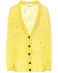 Marni Mohair-blend Cardigan - Multicolor