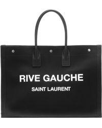 Saint Laurent Noe Tote-Bag - Schwarz