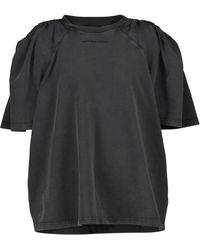 Y. Project Cotton T-shirt - Black