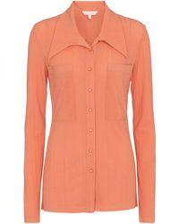 Low Classic Camicia in maglia stretch - Multicolore