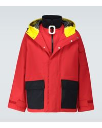 JW Anderson Giacca JWA in nylon - Rosso