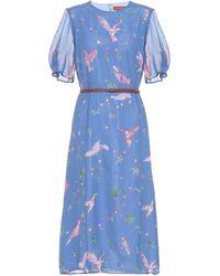 Altuzarra 'gorman' Dress - Blue