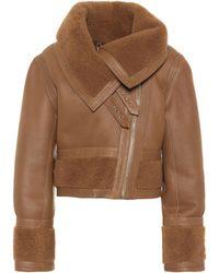 Zimmermann - Fleeting Cavalry Leather Jacket - Lyst
