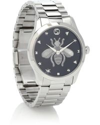 Gucci - G-timeless 38mm Stainless-steel Watch - Lyst