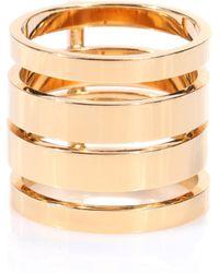 Repossi Ring Berbere Module aus 18kt Gelbgold - Mettallic