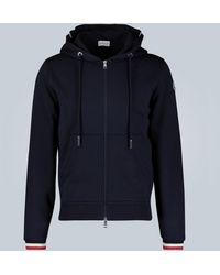 Moncler Hooded Cardigan - Blue