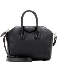 Givenchy Antigona Mini Leather Tote - Black