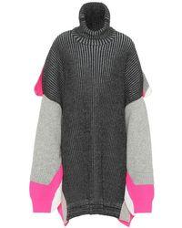 Balenciaga Dolcevita in misto lana - Multicolore