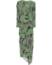 Preen By Thornton Bregazzi Ofira Floral Maxi Dress - Green