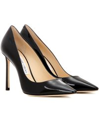 Jimmy Choo Zapatos de tacón Love 100 - Negro