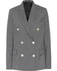 Golden Goose Deluxe Brand - Wool Double-breasted Blazer - Lyst