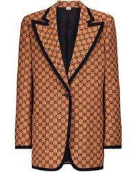 Gucci Blazer GG Multicolor - Orange