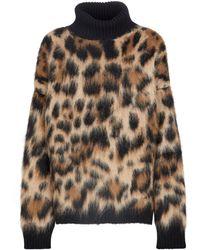 Dolce & Gabbana Jersey en mezcla de mohair y lana - Neutro