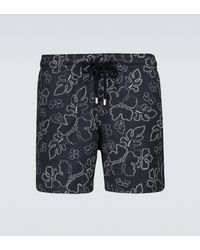 Vilebrequin Moorise Printed Swim Shorts - Blue