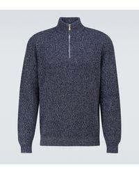 Brunello Cucinelli Pullover aus Kaschmir - Blau