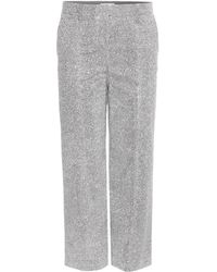 Edun - Cropped Trousers - Lyst