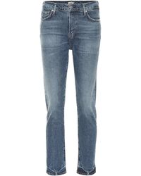 Citizens of Humanity High-Rise Jeans Harlow - Blau