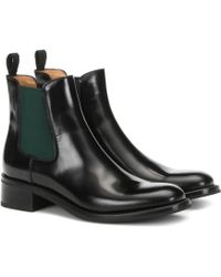 Church's Monmouth Patent Leather Ankle Boots - Black