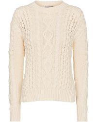 Polo Ralph Lauren Jersey de algodón de punto trenzado - Neutro