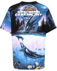 Opening Ceremony - Graphic Print T-shirt - Lyst