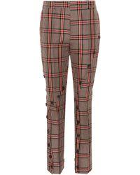 ROKH Pantalones en mezcla de algodón - Marrón