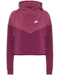 Nike - Felpa in misto cotone - Lyst