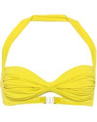 Norma Kamali Exclusive To Mytheresa – Bill Bikini Top - Yellow