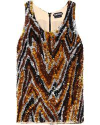 Tom Ford - Sequin-Embellished Crepe Top - Lyst