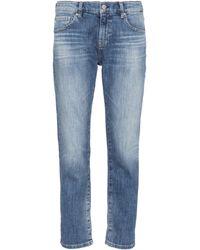 AG Jeans Jeans Ex Boyfriend - Blu