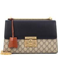 f2d24f23a5e9 Gucci - Padlock GG Supreme Medium Shoulder Bag - Lyst