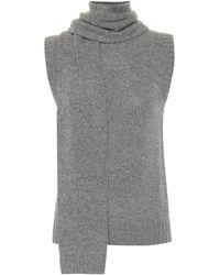 Prada Pullover aus Wolle und Kaschmir - Grau