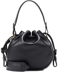 Etro - Medium Leather Bucket Bag - Lyst
