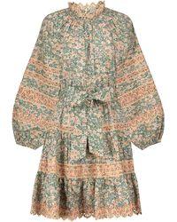 Ulla Johnson Ardith Floral Cotton Minidress - Multicolour