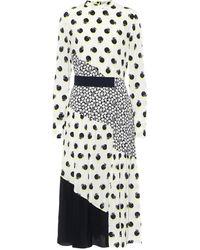 Stella McCartney Printed Silk Midi Dress - Multicolour