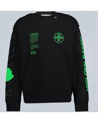 Off-White c/o Virgil Abloh Sweat-shirt Arch Shapes Incompiuto - Noir