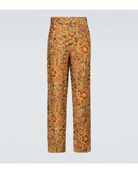 Nanushka Evon Printed Wide-leg Pants - Multicolour