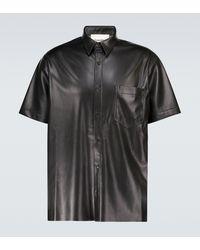 Nanushka - Hemd aus Lederimitat - Lyst