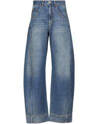 Victoria Beckham High-rise Wide Jeans - Blue
