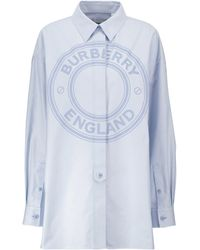 Burberry Hemd aus Baumwolle - Blau
