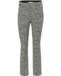 Dorothee Schumacher - Printed Cotton-blend Pants - Lyst
