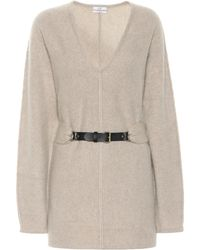 Co. Belted Cashmere Sweater - Natural