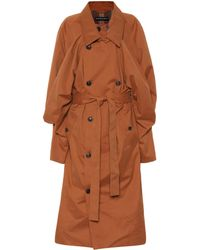 Y. Project - Cotton-blend Trench Coat - Lyst