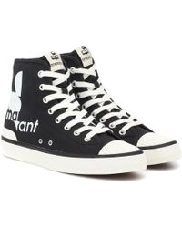 Isabel Marant High-Top-Sneakers Benkeen - Schwarz