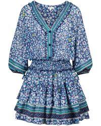 Poupette - Exclusivo en Mytheresa - vestido corto Ariel de algodón - Lyst