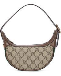 Gucci Ophidia GG Mini Shoulder Bag - Natural