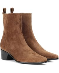 Pierre Hardy - Reno Suede Ankle Boots - Lyst