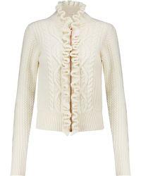 See By Chloé Cardigan aus einem Wollgemisch - Weiß